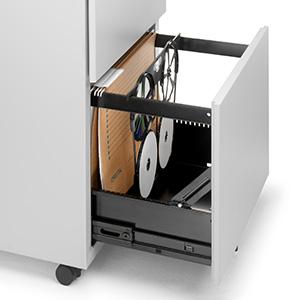 Cajón archivador carpetas y CD